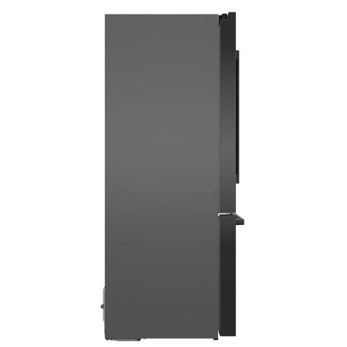 500 Series French Door Bottom Mount 36'' Black stainless steel B36CD50SNB