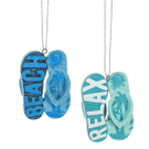 Flip Flop Ornaments (12 pc. ppk.) Product Image