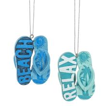 Flip Flop Ornaments (12 pc. ppk.)