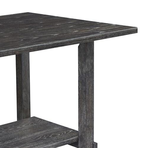 Auburn Counter Height Table, Charcoal