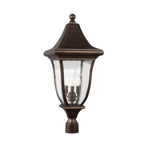Oakmont Post Lantern Patina Bronze