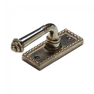 Corbel Rectangular Tilt & Turn Window Escutcheon - EW30700 Silicon Bronze Brushed Product Image
