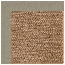 "Islamorada-Diamond Canvas Taupe - Rectangle - 24"" x 36"""