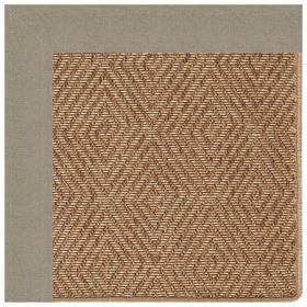"Islamorada-Diamond Canvas Taupe - Rectangle - 24"" x 36"""