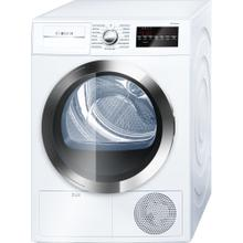 "800 Series Cond. Dryer - 208/240V, Cap. 4.0 cu.ft., 15 Cyc.,63 dBA, SS Drum, Chr. Rev./Door Int. Light, ENERGY STAR ""OUT OF BOX"""