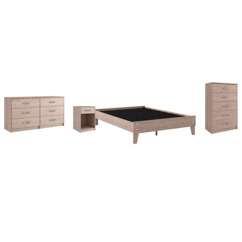 Ashley - Full Platform Bed With Dresser and Chest