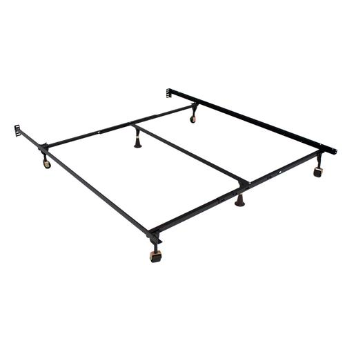 Atlas-lock Keyhole Bed Frames, Queen/cal. King/east. King With Center Support