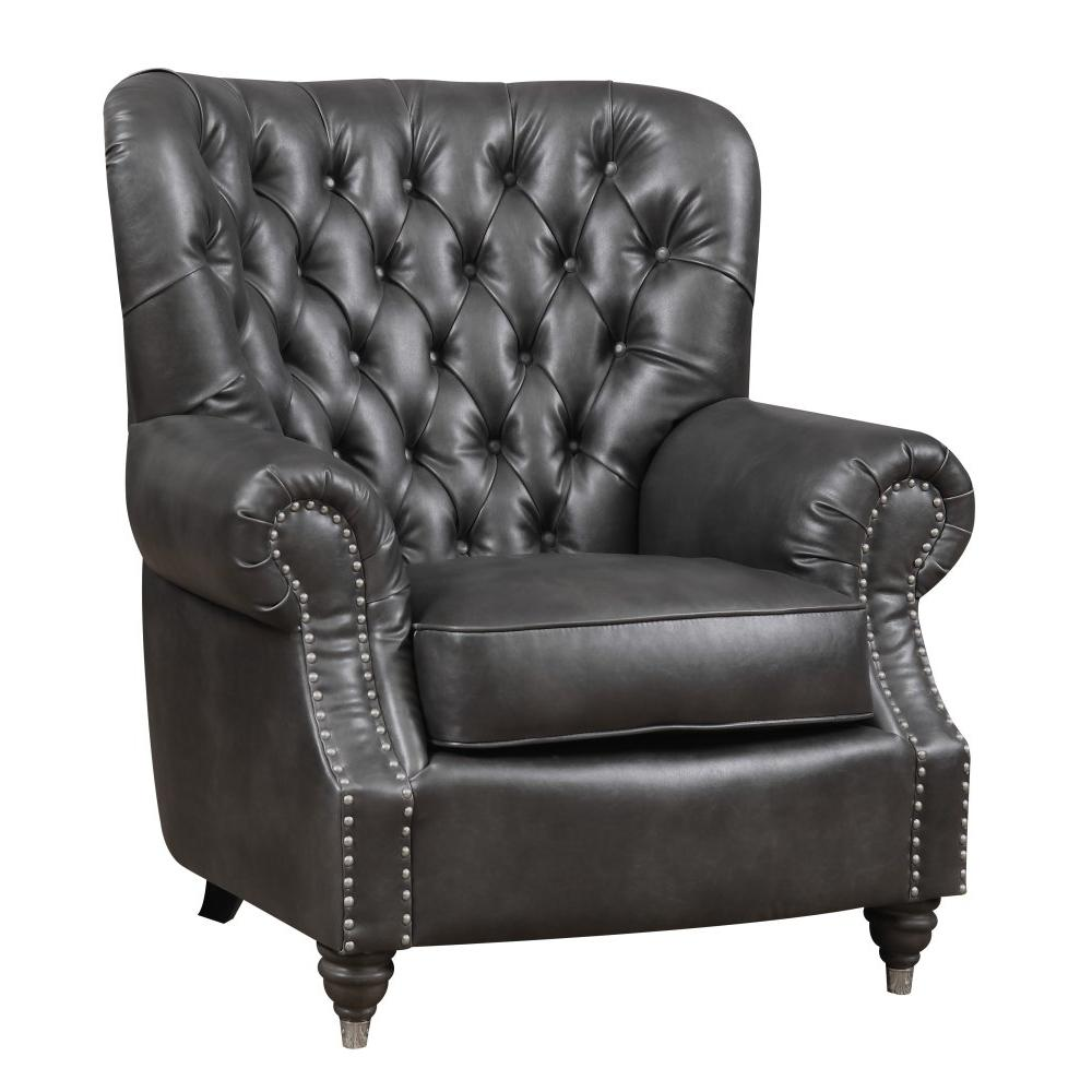 Emerald Home Capone Loveseat-charcoal U3545-01-03