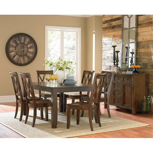 Standard Furniture - Vintage Dining Table, Brown