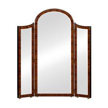 Art Deco Style Full Length Triple Dressing Mirror (High Lustre)