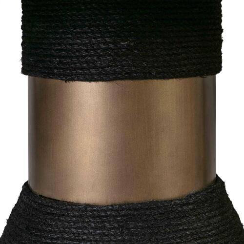 Tov Furniture - Rishi Black Rope Table
