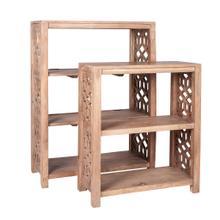 See Details - Stack Mango Wood Book Shelves