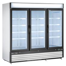 Maxx Cold X-Series Merchandiser Freezer with Glass Door (72 cu. ft.)