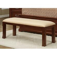 Bench With Upholstered Seat
