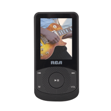 RCA 4 GB Video MP3 Player with 1.8 inch Color Display