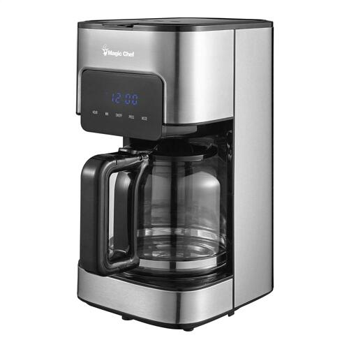 12-Cup Coffee Maker in Stainless Steel