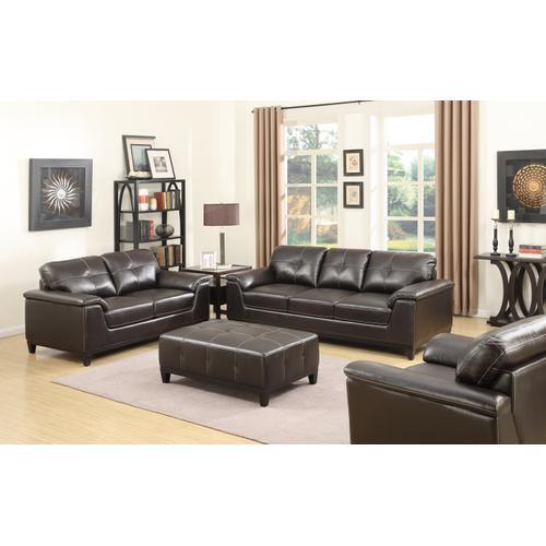 Emerald Home Marquis Loveseat Walnut Brown U4289m-01-15