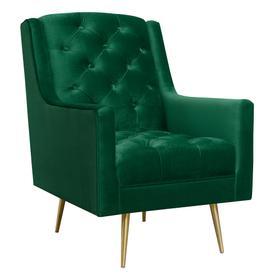 Bryan Accent Chair w/ Gold Legs