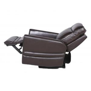 Coachella Dual-Power Recliner Chair, Brown