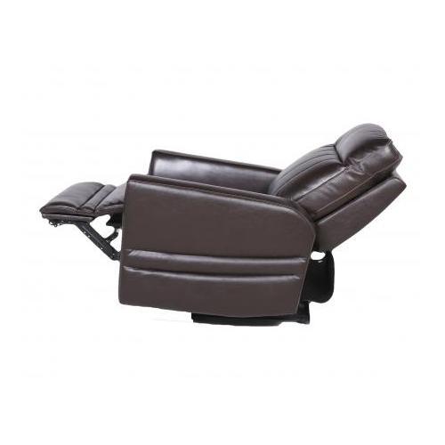 Coachella Dual-Power Recliner Chair, Brown