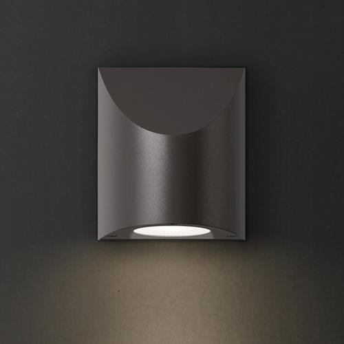 Sonneman - A Way of Light - Shear Sconce [Size=Large, Color/Finish=Textured Gray]