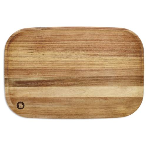 "12"" x 18"" Acacia Cutting Board - Acacia Wood"