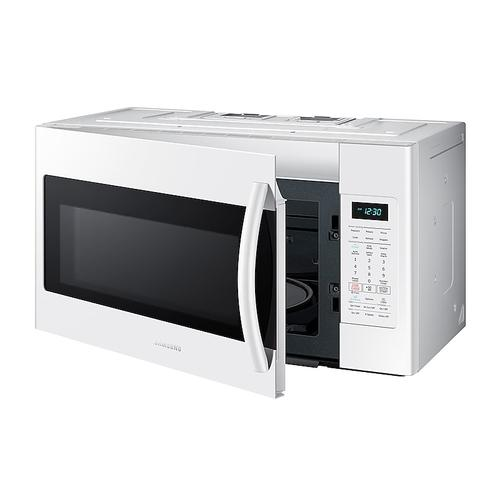 Samsung - 1.8 cu. ft. Over-the-Range Microwave with Sensor Cooking in White
