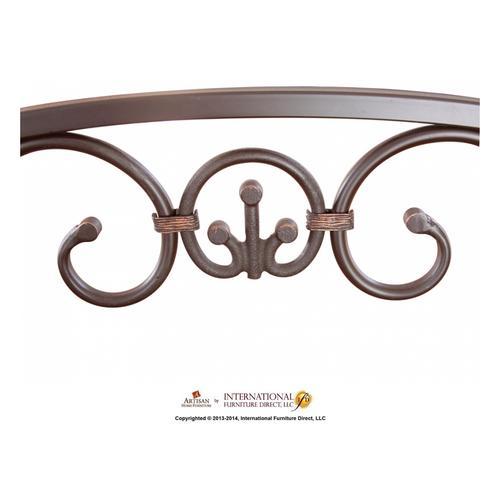 Artisan Home Furniture - Wine Glass Rack w/Mirror