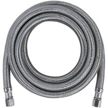 Braided Stainless Steel Ice Maker Connector, 10ft
