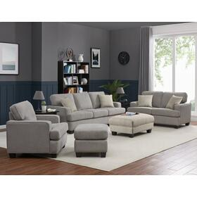 Emerald Home Carter Sofa & Loveseat Grey