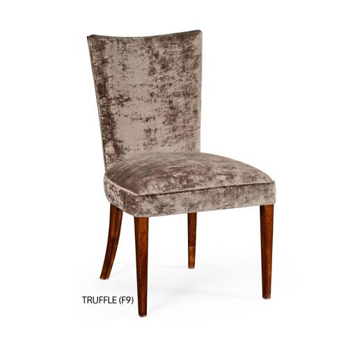 Biedermeier style mahogany dining side chair (Truffle)