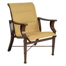 See Details - Arkadia Padded Sling Dining Armchair