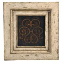 See Details - Medallion Tall Cabinet - Antique White