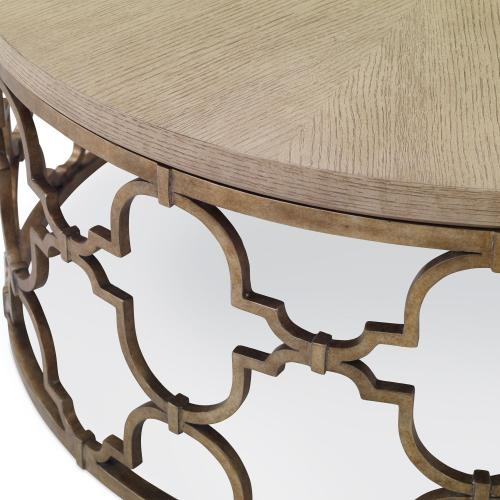 Filigree Cocktail Table - Winter Aspen