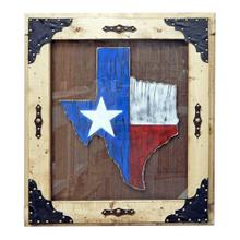 Painted Wooden Texas