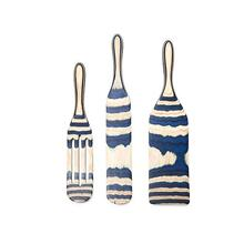 Product Image - Mad Hungry 3-Pc Pakka Wood Spurtle Set (Blue)