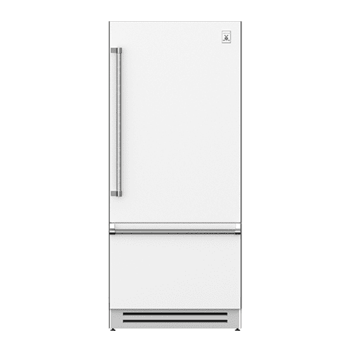 "36"" Bottom Mount, Bottom Compressor Refrigerator - KRB Series - Froth"