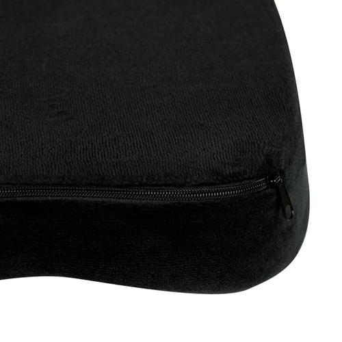 Flash Furniture - Seat Cushion for Office Chair - 100% CertiPUR-US Certified Memory Foam - Pillow for Sitting, Black