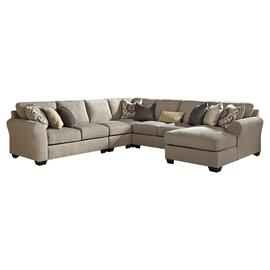 See Details - Pantomine 5-piece Sectional With Chaise