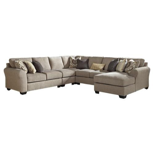 Benchcraft - Pantomine 5-piece Sectional With Chaise