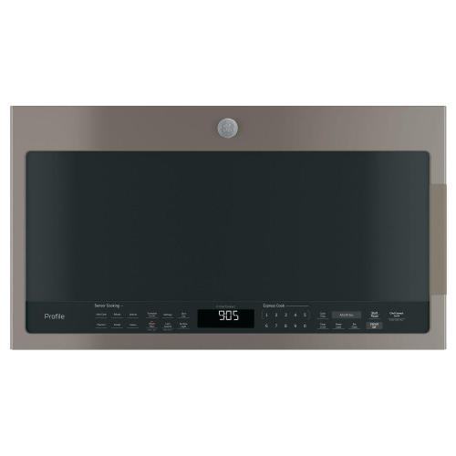 GE Profile - GE Profile™ Series 2.1 Cu. Ft. Over-the-Range Sensor Microwave Oven