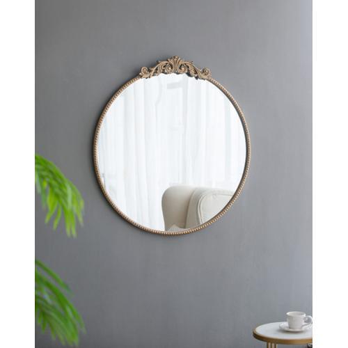 A & B Home - Dia Gold Mirror
