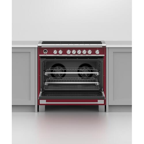 """Fisher & Paykel - Induction Range, 36"""", 5 Zones with SmartZone, Self-cleaning"""
