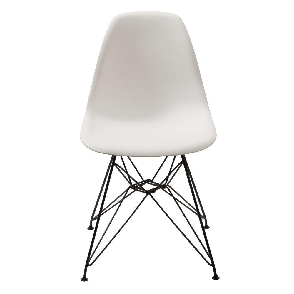 Rostock Chair with White Finish