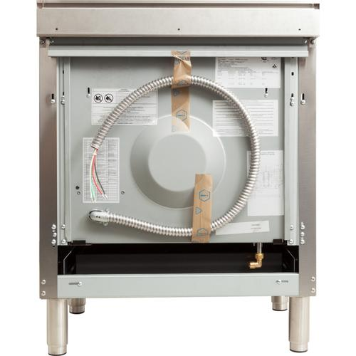 24 Inch Stainless Steel Dual Fuel Natural Gas Freestanding Range