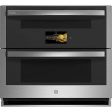 "GE Profile 30"" Smart Built-In Twin Flex Convection Wall Oven Stainless Steel - PTS9200SNSS"