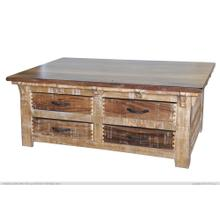 See Details - Cocktail Table w/ 8 Drawer