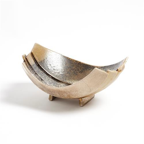 Strata Bowl-Raku