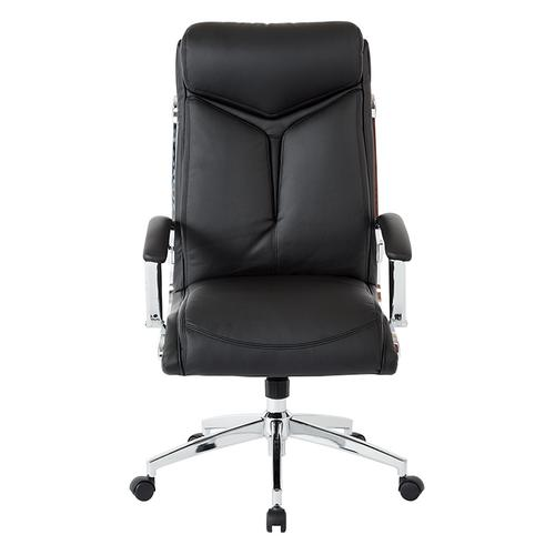 Executive Faux Leather High Back Chair
