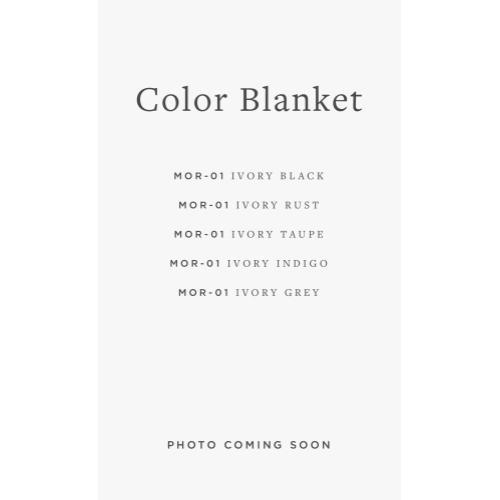 MOR-01 ED Color Blanket